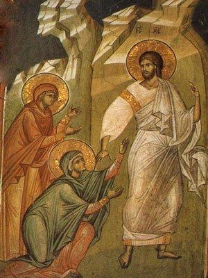 Hristos si femeile la mormant
