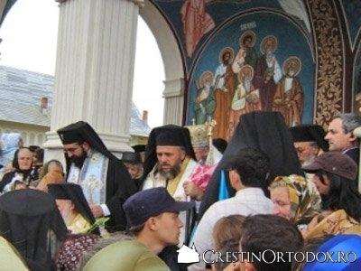 Slujba de sfintire la Manastirea Sfantul Vasile cel Mare din Bodesti