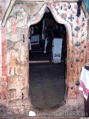 Biserica de lemn din Dobricu Lapusului - Judecata de Apoi