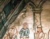 Biserica de lemn din Libotin - Lepadarea lui Petru
