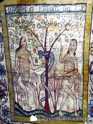 Biserica de lemn din Libotin - Pacatul originar
