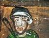 Biserica de lemn din Pausa - Presupun autoportret (Ioan Pop din Ungurasi)