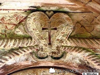 Biserica de lemn din Pausa - Sculptura in lemn