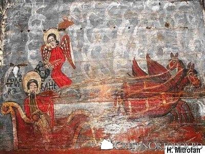 Biserica de lemn din Runcu Salvei - Sfantul Prooroc Ilie