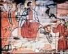 Biserica de lemn din Sarata - Intrarea in Ierusalim