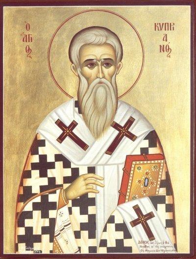 Acatistul Sfantului Ciprian