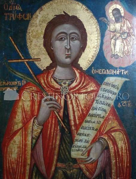 Acatistul Sfantului Trifon