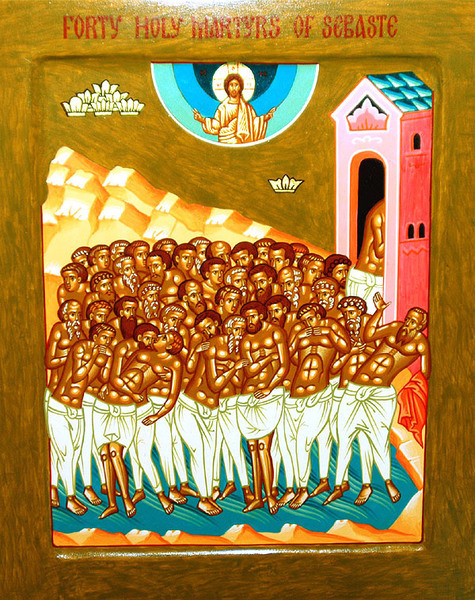 Acatistul Sfintilor 40 de Mucenici