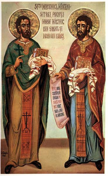 Acatistul Sfintilor Ioan din Gales si Moise Macinic