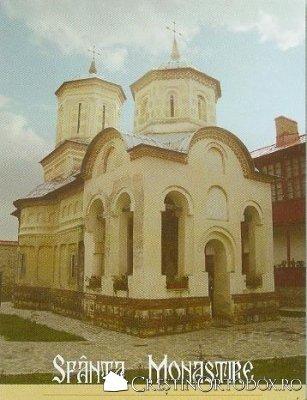 Manastirea Arnota - Biserica