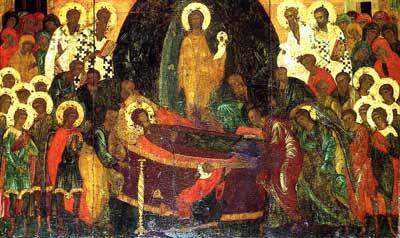 Intaiul canon al praznicului Adormirii Maicii Domnului