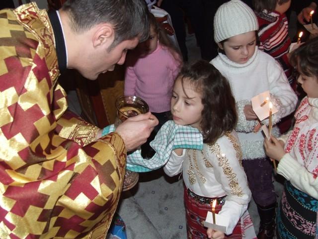 Impartasania in cadrul Sfintei Liturghii