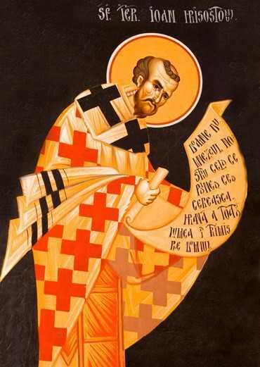Sfantul Ioan Gura de Aur - Cuvant la Sfanta si Marea Vineri