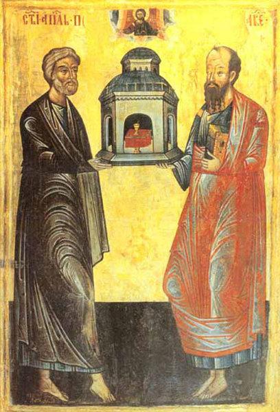 Predica la Sfintii Apostoli Petru si Pavel