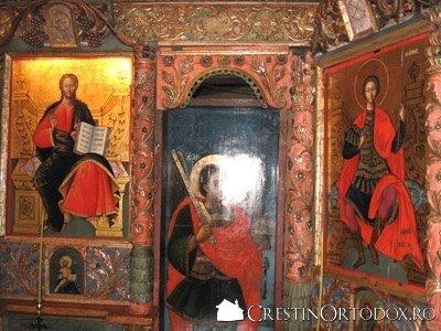 Manastirea Voronet - Icoane imparatesti