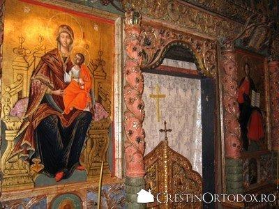 Manastirea Voronet - Catapeteasma (detaliu)