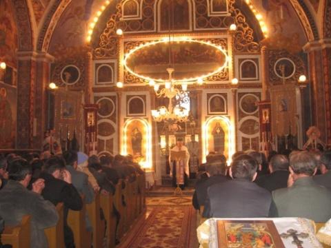 Rugaciune la iesirea din Biserica