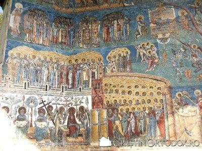 Manastirea Voronet - Judecata de Apoi