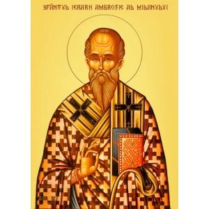 Sfantul Ambrozie, episcopul Mediolanului