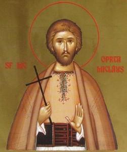 Mucenicul  Oprea Miclaus din Salistea Sibiului