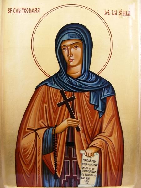 Cuvioasa Teodora de la Sihla