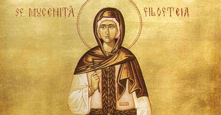Sfanta Mucenita Filofteia, o sfanta de numai 12 ani