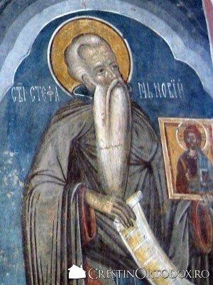 Manastirea Probota - Sfantul Stefan Iconarul