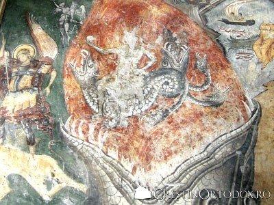 Manastirea Probota - Flacarile iadului