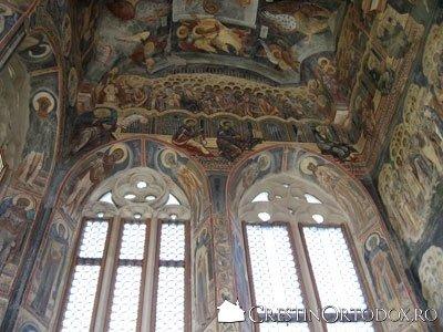 Manastirea Probota - Ferestre din Pridvor