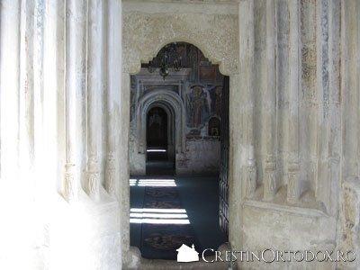 Manastirea Probota - Vedere din Pridvor