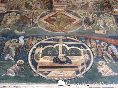 Manastirea Probota - Tronul Epitamasiei