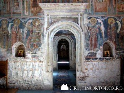 Manastirea Probota - Pronaos