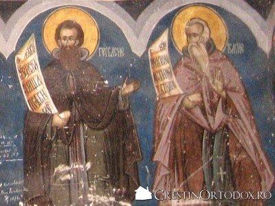 Manastirea Humor - Sfantul Ghervasie si Sfantul Isachie