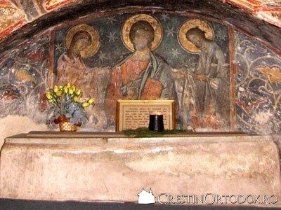 Manastirea Humor - Deisis (detaliu din Gropnita)
