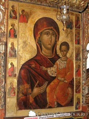 Manastirea Humor - Icoana Imparateasca cu Maica Domnului