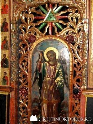 Manastirea Humor - Usile diaconesti
