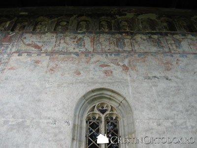 Manastirea Humor - Pictura exterioara (peretele nordic)