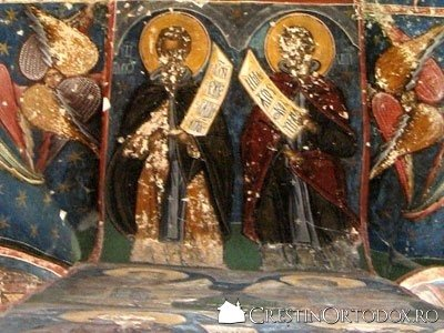 Manastirea Humor - Pictura din Pridvor
