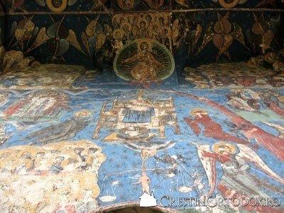 Manastirea Humor - Tronul Judecatii