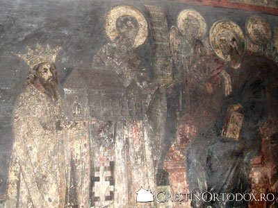 Manastirea Bogdana - Ctitorii manastirii