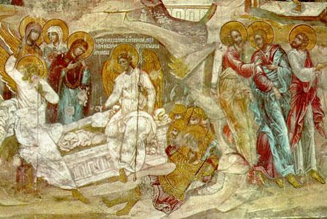 Moarte calcata cu Moarte si Inviere adevarata din Inviere adevarata