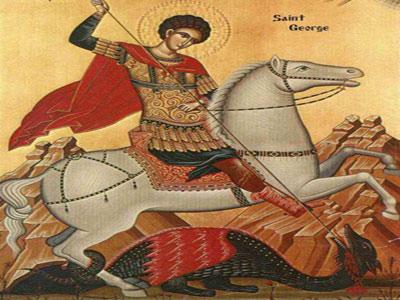 Sfantul Gheorghe, purtatorul de biruinta
