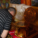 Moastele Sfantului Grigorie Palama la Catedrala Patriarhala
