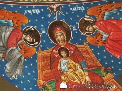 Paraclisul Manastirii Sfantul Gheorghe - Fresca Altar