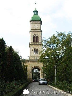 Biserica Barboi - Turn clopotnita