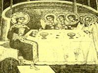 Intelepciunea lui Dumnezeu pictata la Manastirea Sucevita