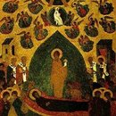Adormirea Maicii Domnului - Andrei Rubliov