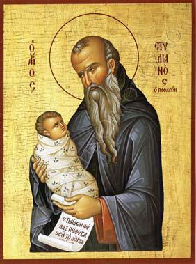 Sfantul Stelian, ocrotitorul copiilor
