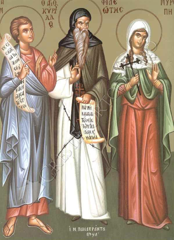 Sfantul Proroc Avacum; Sfanta Miropia; Sfantul Ierarh Solomon