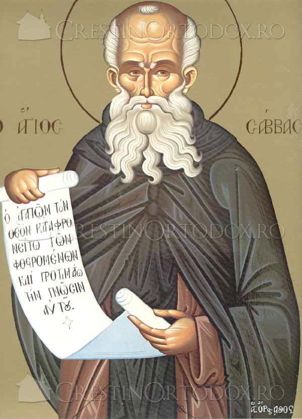 Sfantul Sava cel Sfintit